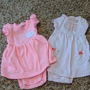 Carter's Brand Newborn Girl Dresses